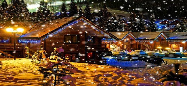 Если вы будете справлять новый год в загородном доме