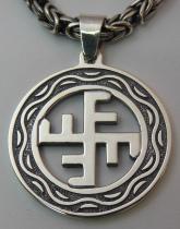 """Солнечный крест"" символ бога ""Ярило"""