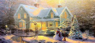 Нарядить елку подручными предметами, играть в снежки и петь песни громче всех — романтика!