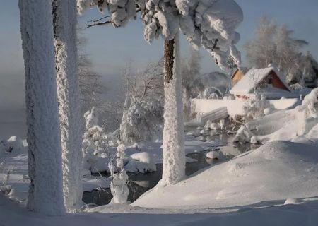 Хороши, чисты русские снежные зимы.
