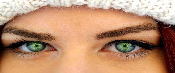 Размерность глаз человека