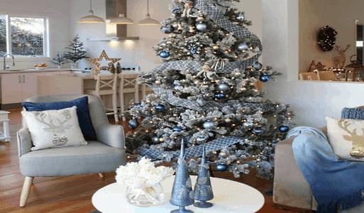 стиль украшения новогодней елки