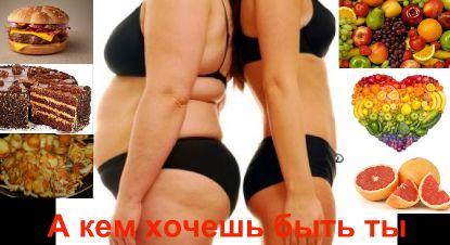 Худая и толстая...