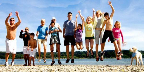 Жизнь — это любовь... Любовь — это семья... семья — это дети, они и есть самое главное в жизни...