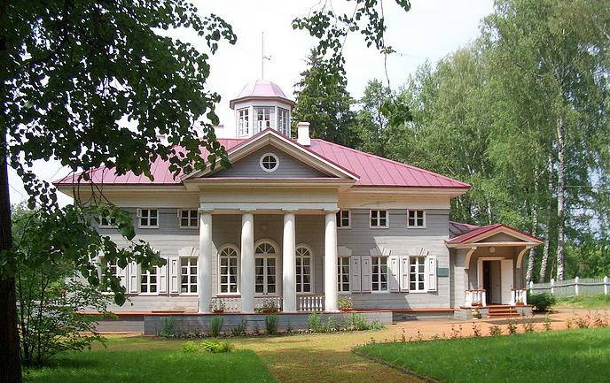 Усадьба Захарово - дом где провел свое детство Александр Сергеевич Пушкин