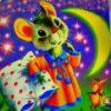 Сказка о глупом мышонке текст с картинками