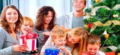 Домашнее празднование Новый год