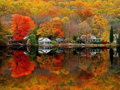 """""""Autumn is the time of picturesque tranquility."""""""
