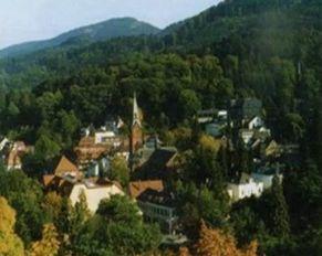 на курорте в Баденвейлере