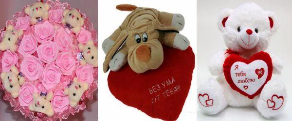 Идеи, что подарить любимой девушке на день Святого Валентина