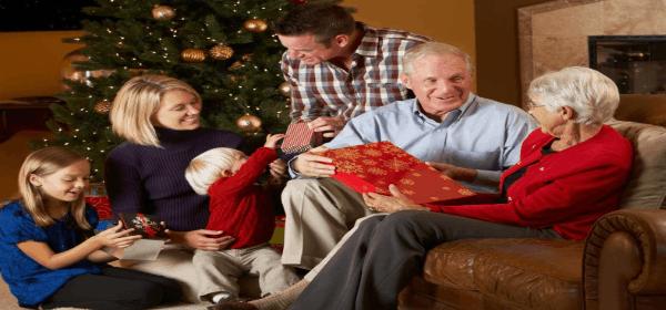 подарки на новый год для родителям