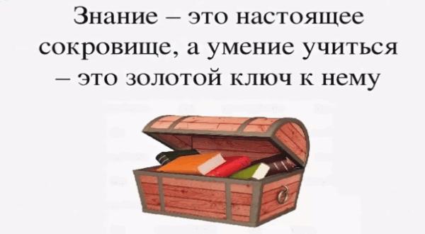Цитаты про знания и учёбу